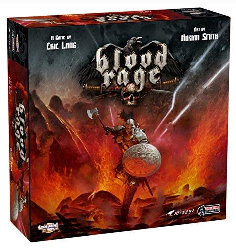 Blood Rage Board Game Core Game Box