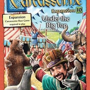 Carcassonne Under The Big Top Expansion Board Game