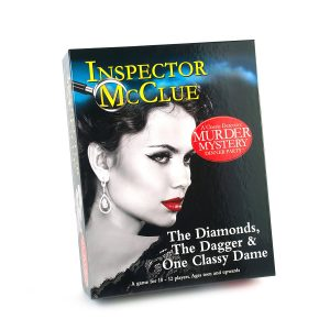 Murder Mystery Inspector Mc Clue The Diamonds Dagger and One Classy Dame Game