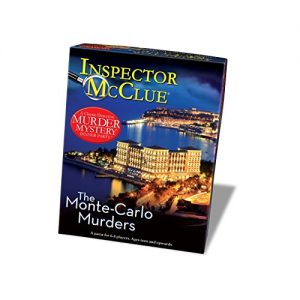 Murder Mystery The Monte Carlo Murders Party Game