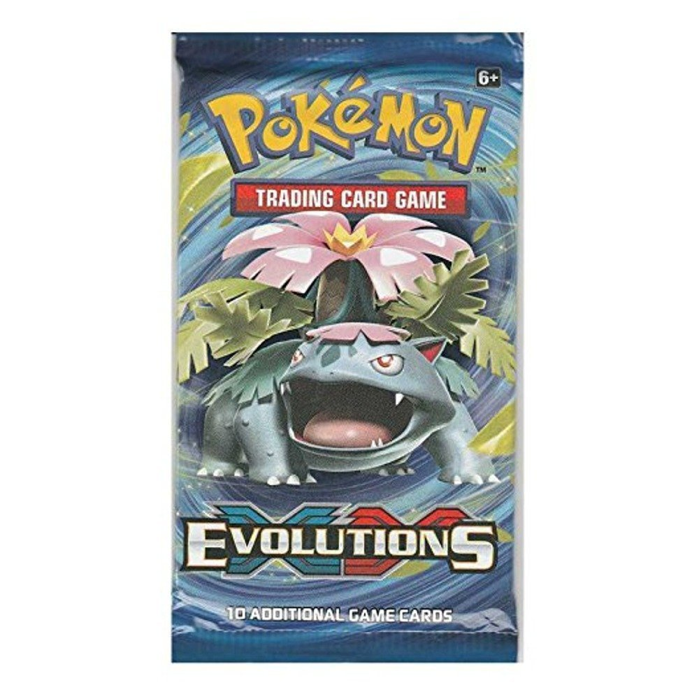 Pokemon XY12 Evolutions Booster Pack