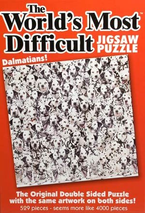 The Worlds Most Difficult Dalmations Jigsaw Puzzle
