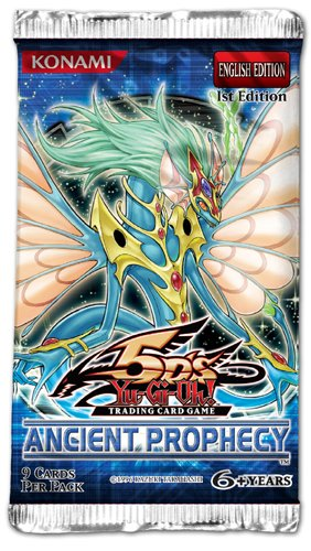 YuGiOh Ancient Prophecy Booster Pack