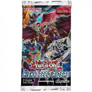 YuGiOh High-Speed Riders booster packet