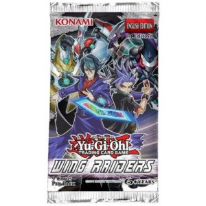 YuGiOh Wing Raiders Booster Packet