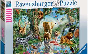 Ravensburger Adventures in The Jungle 1000Pc Jigsaw