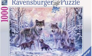 Ravensburger Arctic Wolves 1000pc Jigsaw