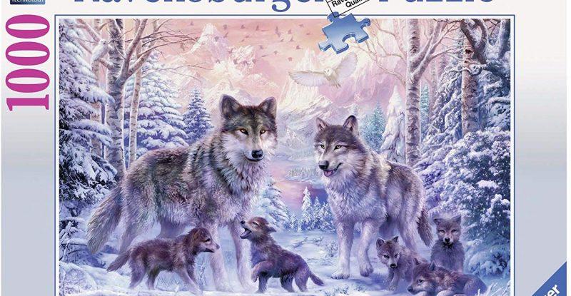 Ravensburger Arctic Wolves 1000pc Jigsaw