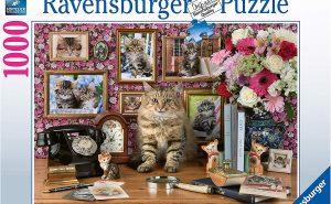 Ravensburger Cute Kitty 1000pc Jigsaw