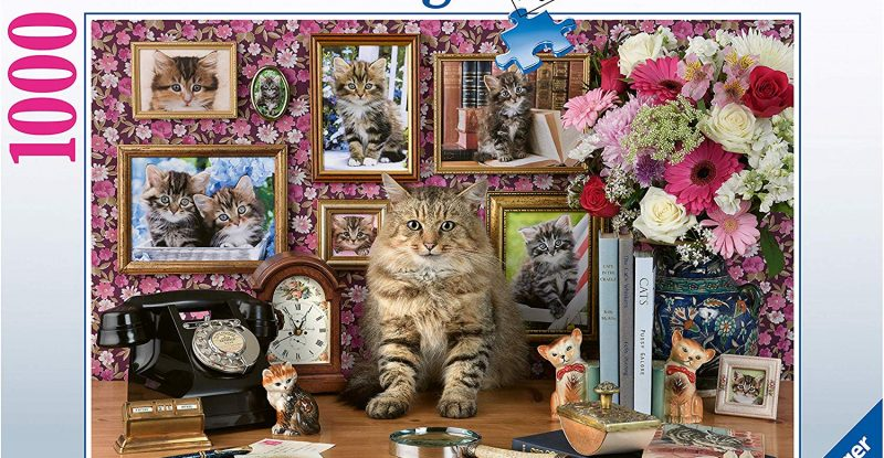Ravensburger Cute Kitty 1000pc Jigsaw