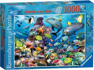 Ravensburger Jewels of the Sea 1000pc Jigsaw