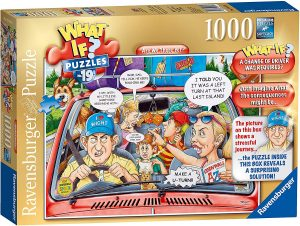 Ravensburger WHAT IF No.19 Are we there yet 1000pc Jigsaw